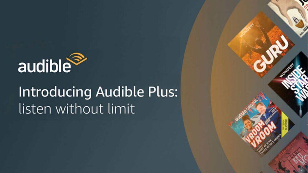 audible plus unlimited audiobooks