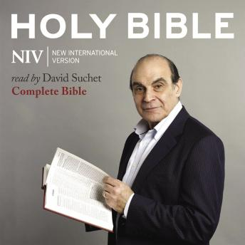 David Suchet Audio Bible - New International Version, NIV: Complete Bible audiobooks