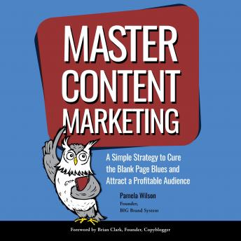 Master Content Marketing: A Simple Strategy to Cure the Blank Page Blue and Attract a Profitable Audience audiobooks