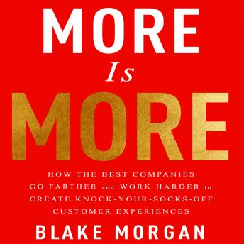 More is More: How the Best Companies Go Farther and Work Harder to Create Knock-Your-Socks-Off Customer Experiences audiobooks