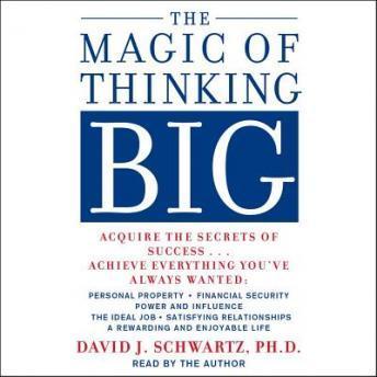 The Magic of Thinking Big audiobooks