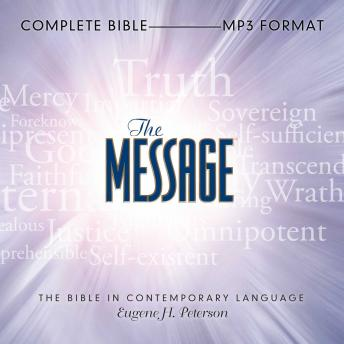 The Message Bible audiobooks