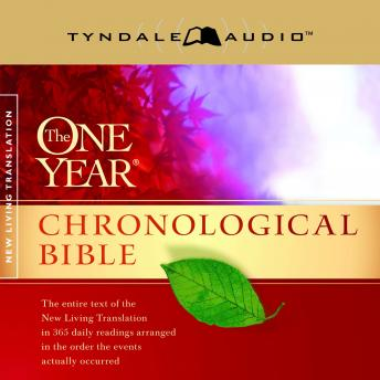 The One Year Chronological Bible NLT audiobooks