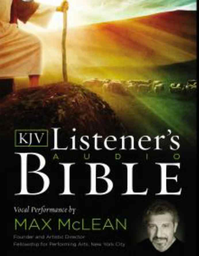 Listerner's Audio Bible–King James Version, KJV: Old Testament: Vocal Performance By Max Mclean audiobooks