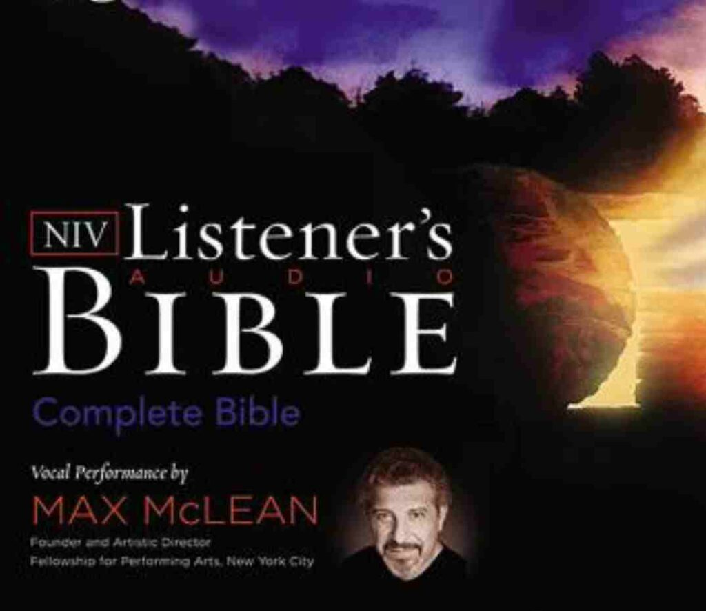 Listener's Audio Bible - New International Version, NIV: Old Testament: Vocal Performance by Max McLean audiobooks