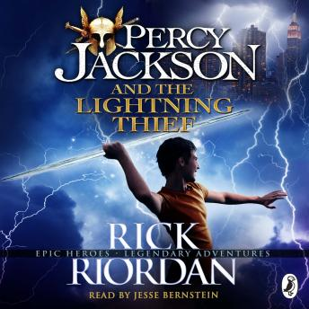 Percy Jackson and the Lightning Thief audioboooks