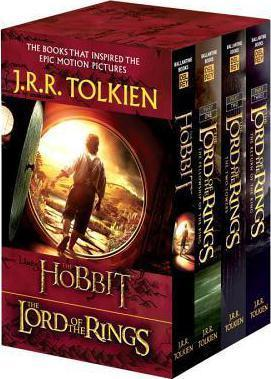 The Hobbit and The Lord of the Rings (4-Book Series) audiobooks