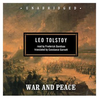 War And Peace audiobooks