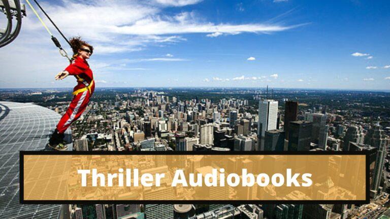 thriller audiobooks