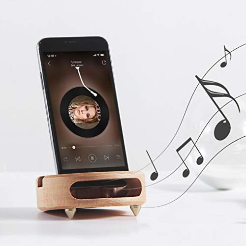 Wooden stand/ Sound amplifier by Mate2Go