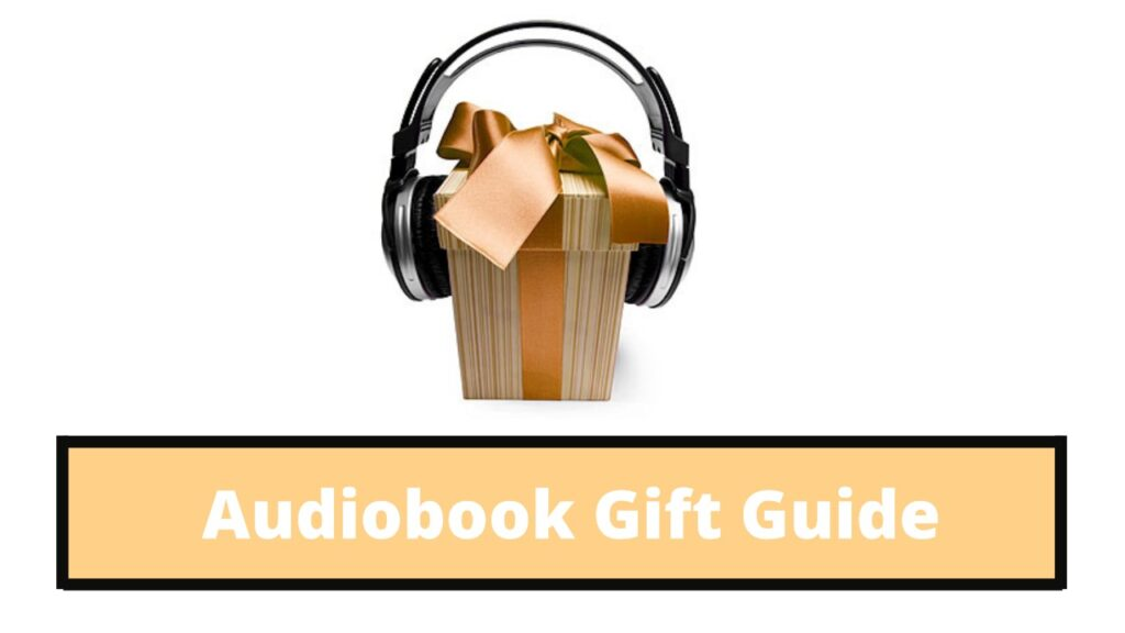 audiobook gift guide